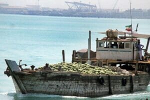 سوخت قاچاق لنج ها