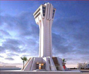 برج کنترل ترافیک دریایی بندر شهید بهشتی چابهار