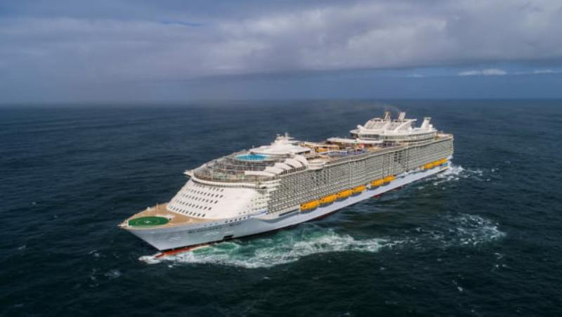 تدارکات در کشتی های تفریحی کروز