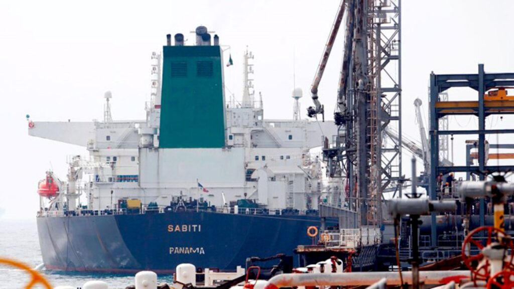 تعمیر نفتکش سابیتی در ایزوایکو-sabiti oil tanker