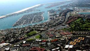 جزیرهی مصنوعی - Balboa - در کالیفرنیای آمریکا