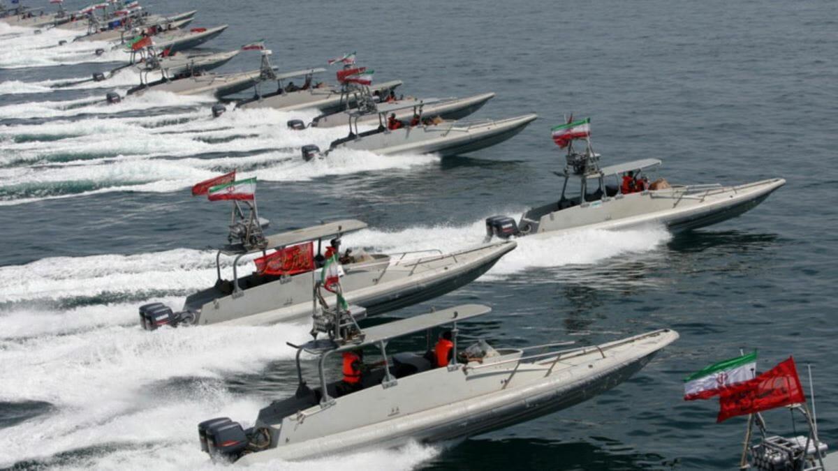 قایقهای تندرو نیروی دریایی سپاه