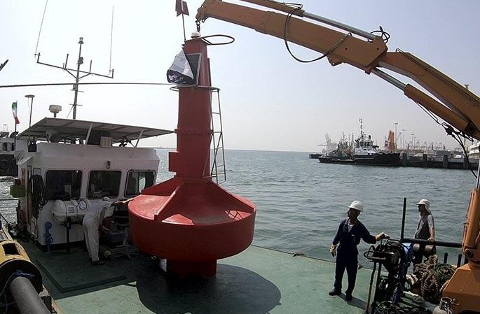 نخستین بویه پلیاتیلن اقیانوسی (چراغ دریایی) تولید داخل