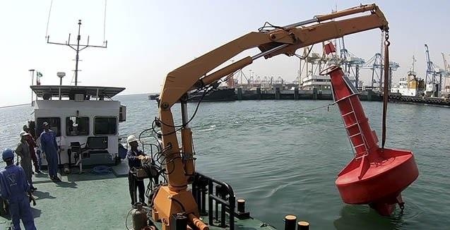 نخستین بویه اقیانوسی ساخت ایران در بندرعباس تولید و نصب شد