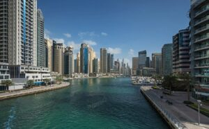 کانال و خور تفریحی آب شهر دوبی قابل قایقرانی و گردشگری