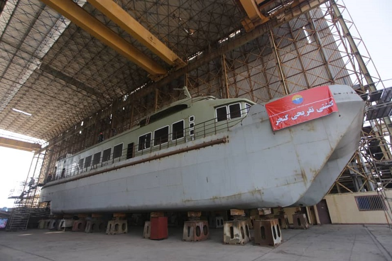 بزرگترین کشتی تفریحی ساخت ایران در بهمن ماه به آب انداخته می شود