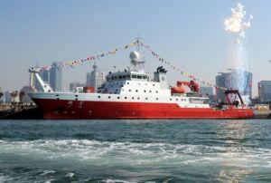 کشتی چینی تحقیقاتی KEXUE ship