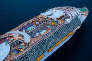 کشتی کروز تفریحی سمفونی دریاها
