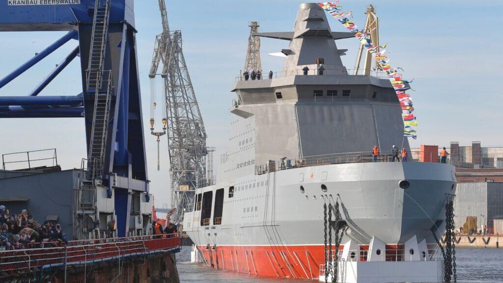 ناو یخشکن نیروی دریایی روسیه