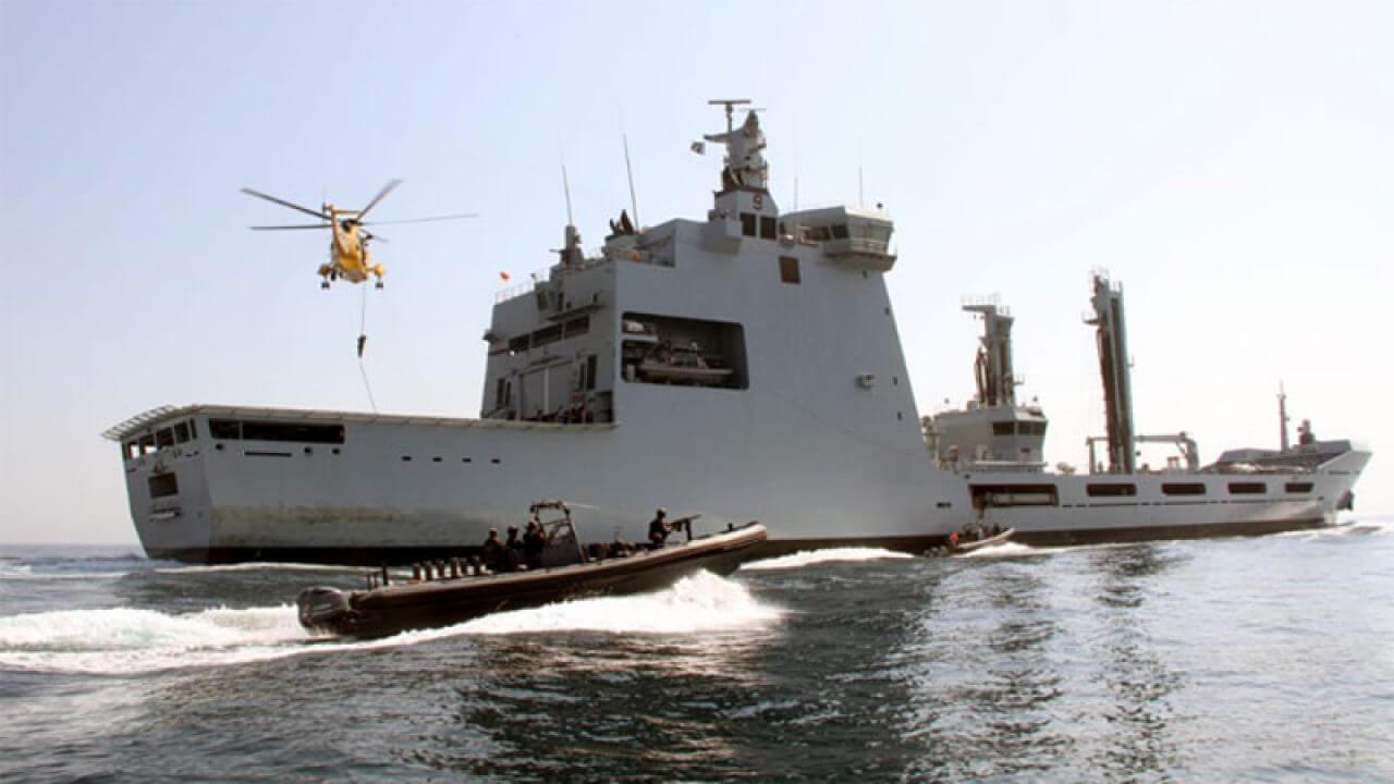 """عضویت کشتی """"مساح"""" در ناوگان نیروی دریایی پاکستان"""