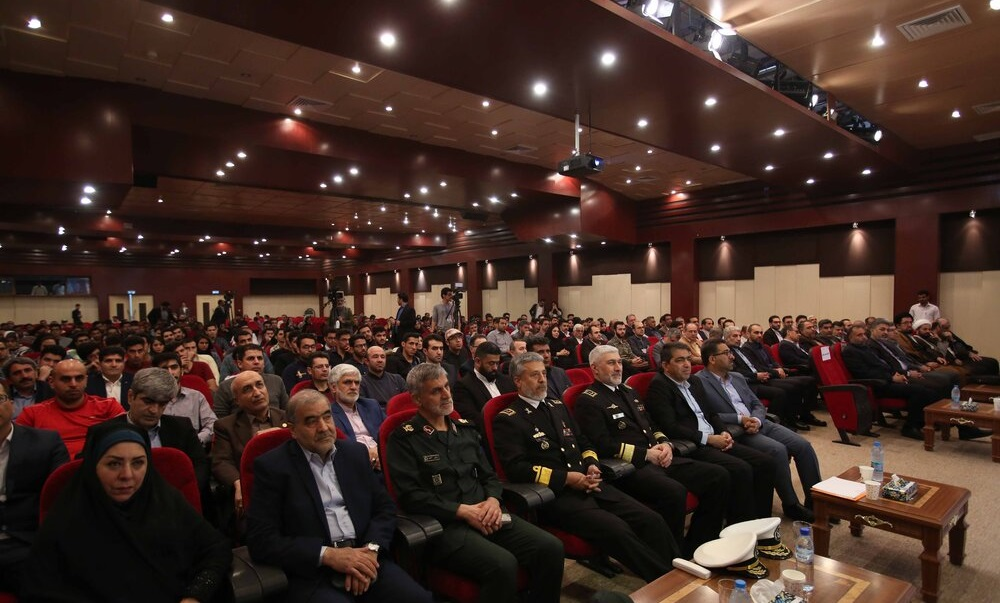 افتتاحیه بیست و یکمین همایش و نمایشگاه صنایع دریایی-جزیره قشم