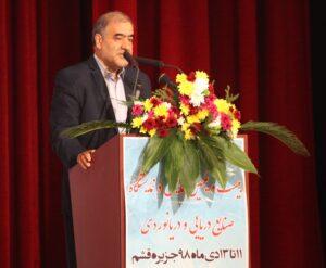 دکتر عباس نوبختی دبیر بیست و یکمین همایش و نمایشگاه صنایع دریایی