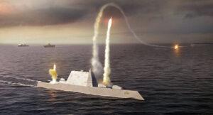 ناوشکن جدید کلاس یواساس زوموالت USS Zumwalt
