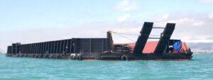 پایان اولین سفر دریایی بارج 5000 تنی «آروشا» با استفاده از تسهیلات صندوق توسعه صنایع دریایی