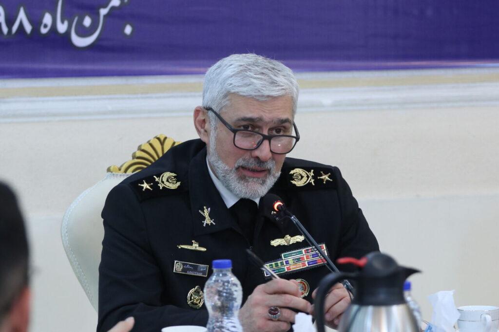 امیر دریادار امیر رستگاری رئیس سازمان صنایع دریایی وزارت دفاع