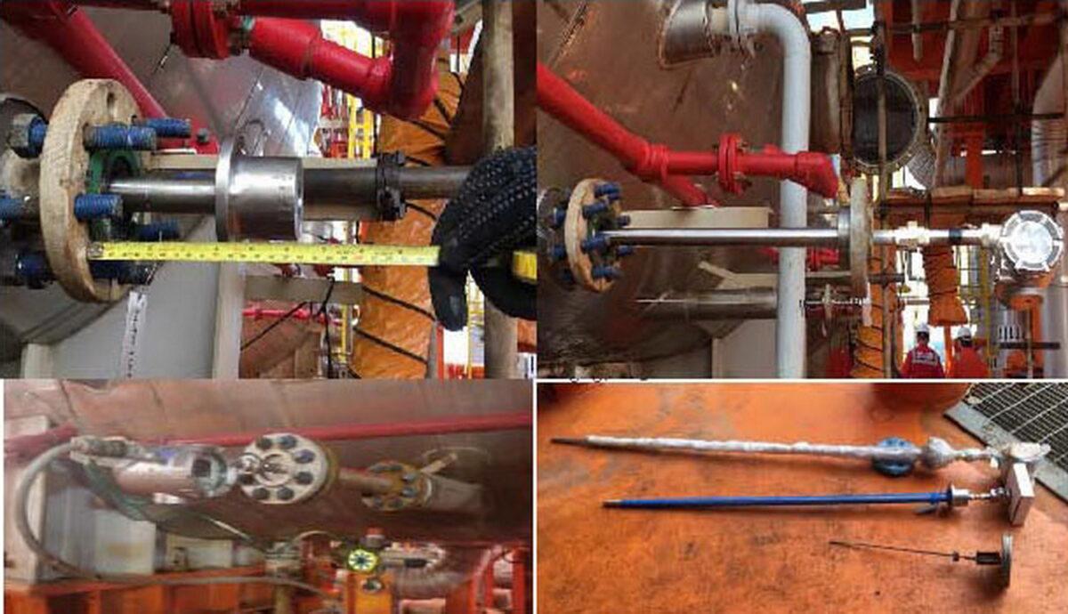 تعمیرات اساسی تفکیککننده فشار پایین پایانه شناور فرآورشی کوروش