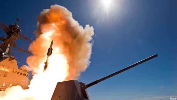 موشک SM-6 نیروی دریایی ایالات متحده آمریکا