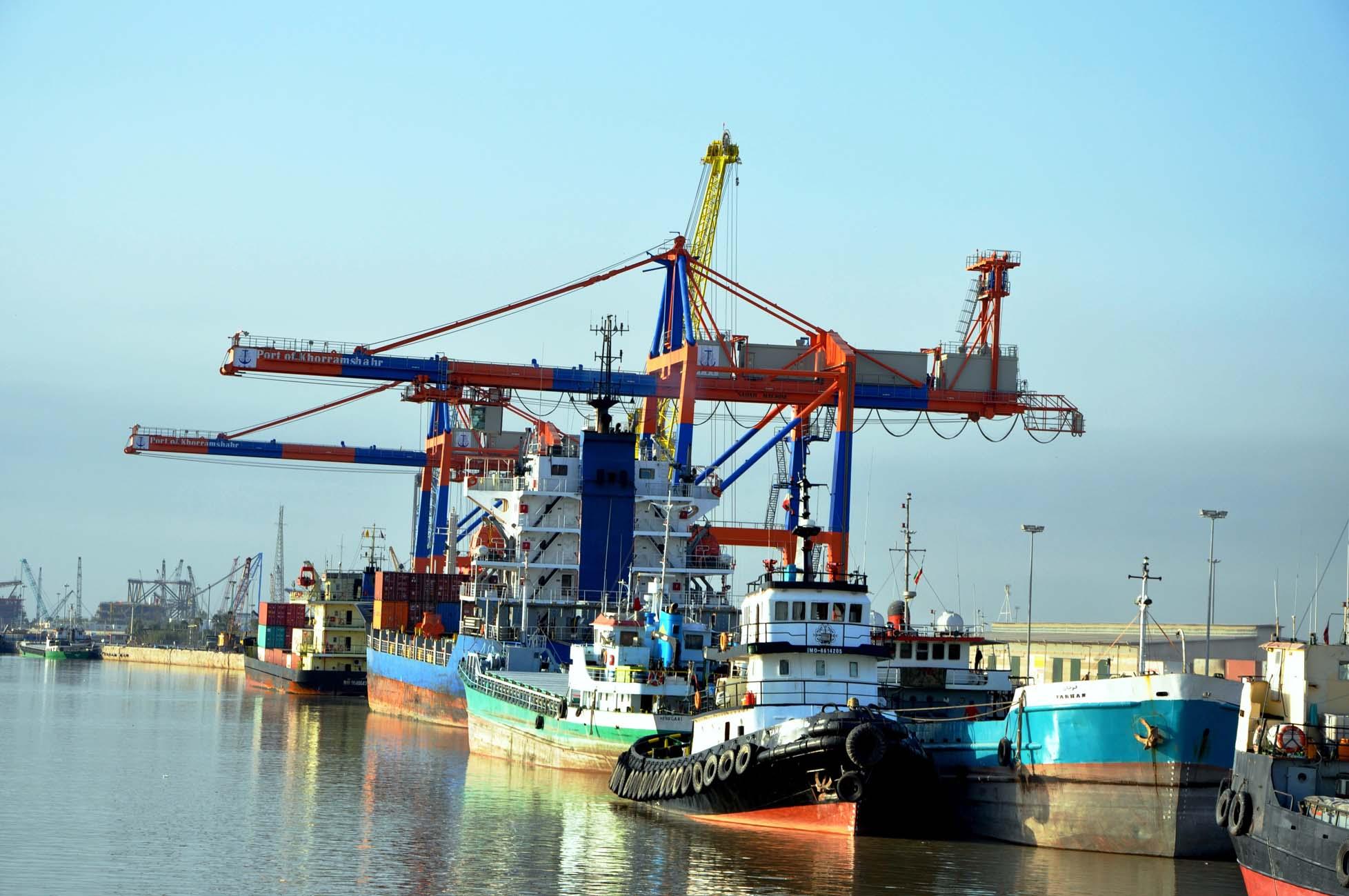 افزایش حجم صادرات کالا از بندر خرمشهر