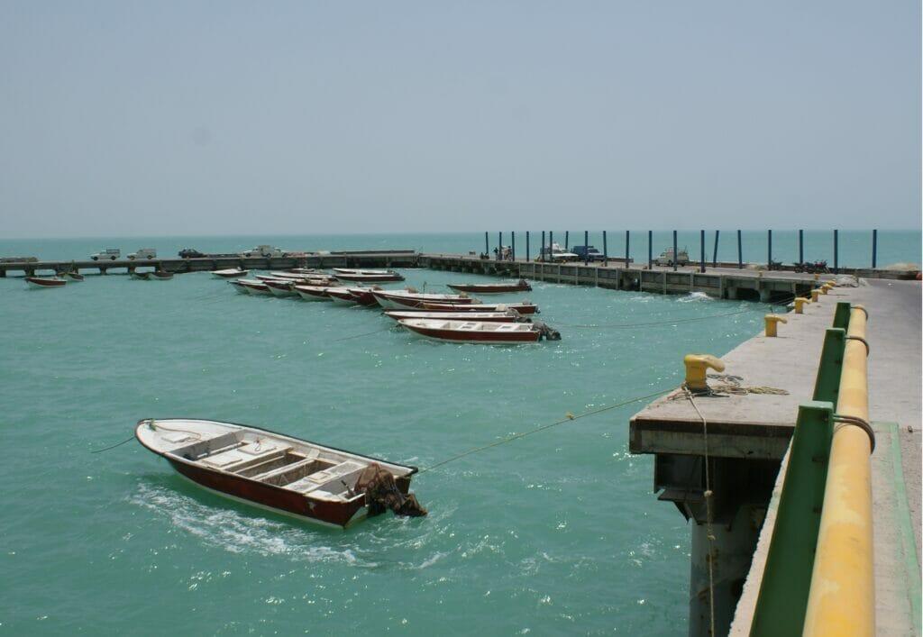اسکله صیادی بحرکان بندر هندیجان خوزستان