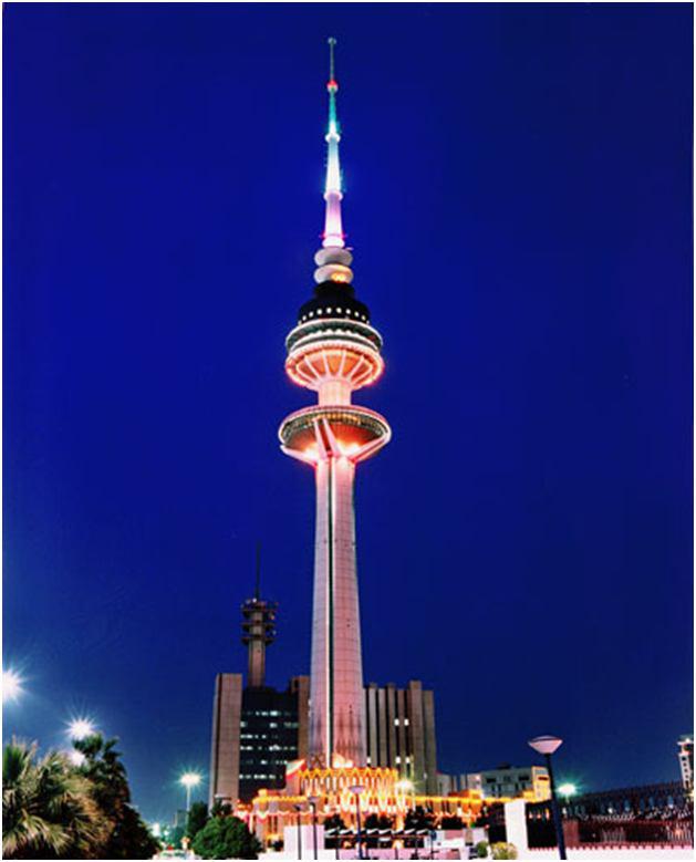 برج-آزادي-کويت؛-دومين-نماد-دریایی-معروف-کشور-کويت-به-ارتفاع-187-متر