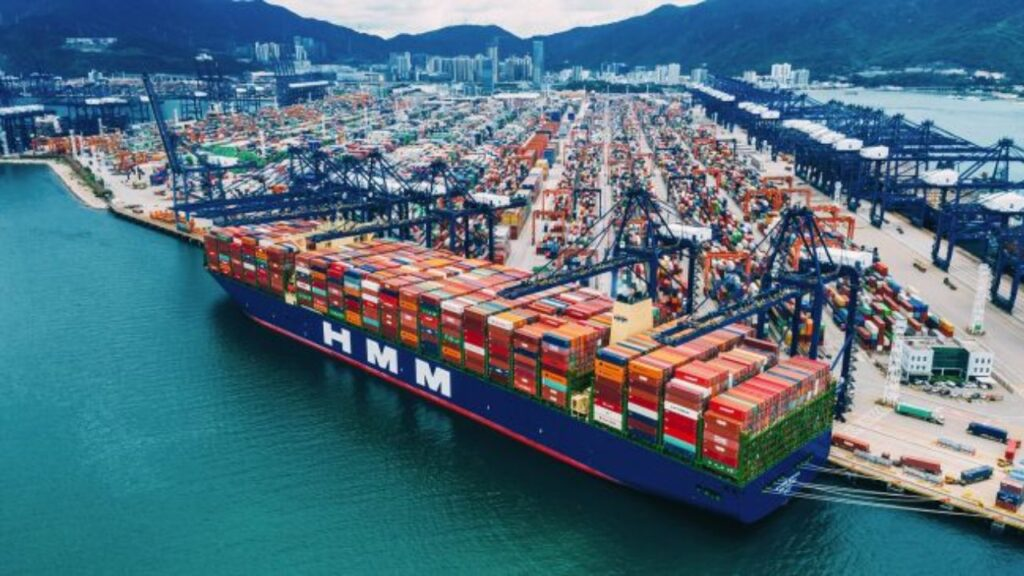 برزگترین کشتی کانتینربر دنیا HMM Algeciras
