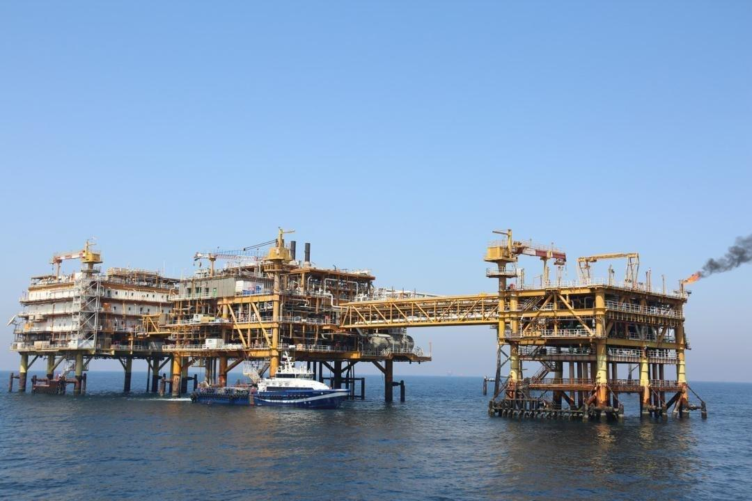 تداوم تولید گاز دریایی از میدان پارس جنوبی