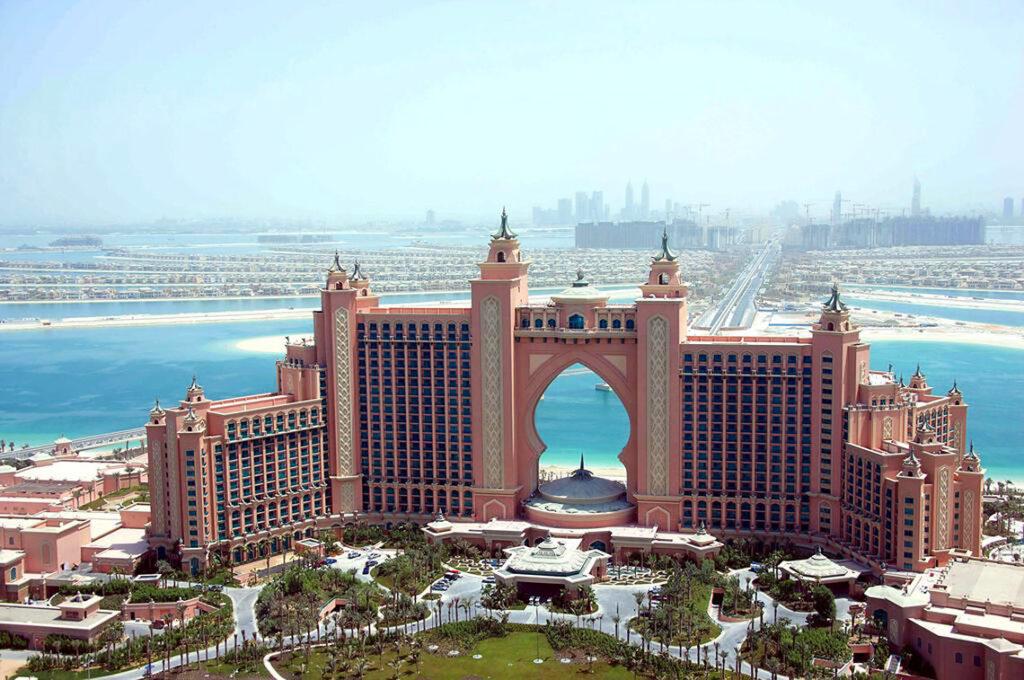تصاویر جزایر نخل دبی