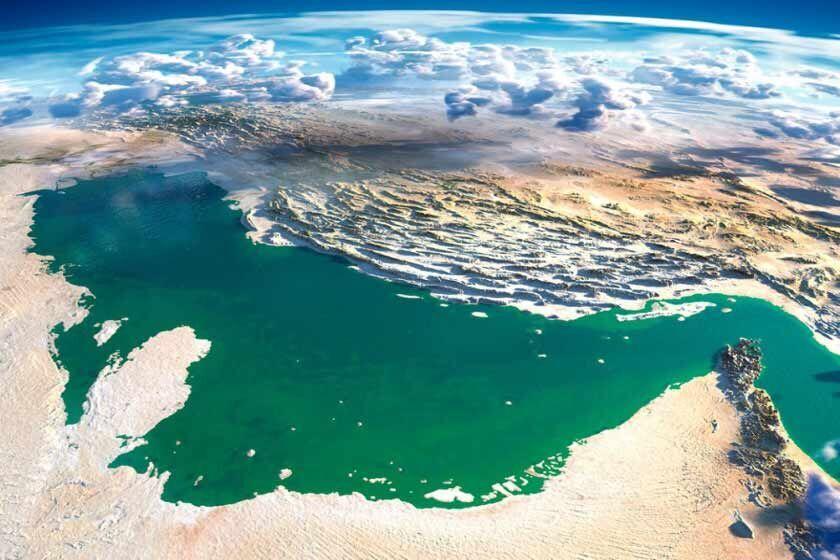 تصویر فضایی خلیجفارس