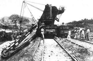 جرثقیل قدیمی کانال پاناما