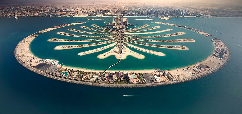 بزرگترین جزیره مصنوعی جهان