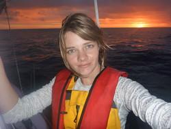 جسیکا واتسون جوان ترین قایقران جهان
