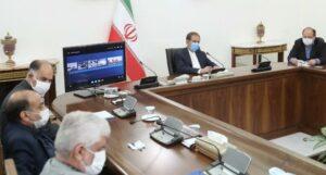 جلسه اسحاق جهانگیری با رئیس سازمان فنی و حرفهای