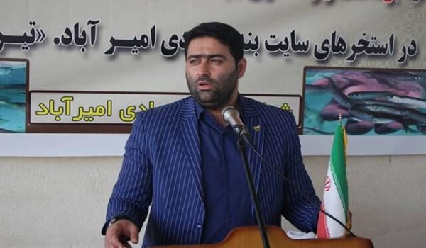 حسن اسحاقی مدیرکل شیلات استان مازندران