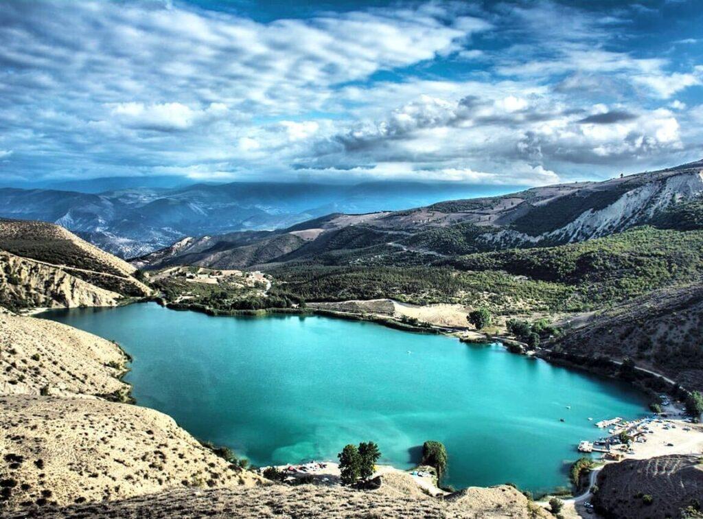 دریاچه ولشت در مسیر دریایی کاسپین