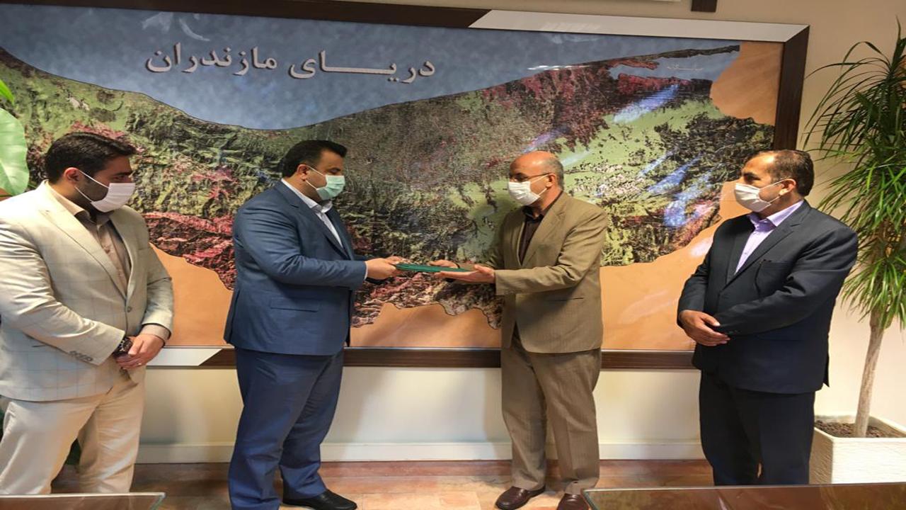 دیدار استاندار مازندران با رئیس سازمان شیلات