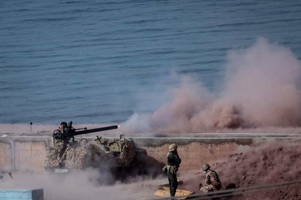 رزمایش دریایی پیامبر اعظم 14 سپاه - روز دوم