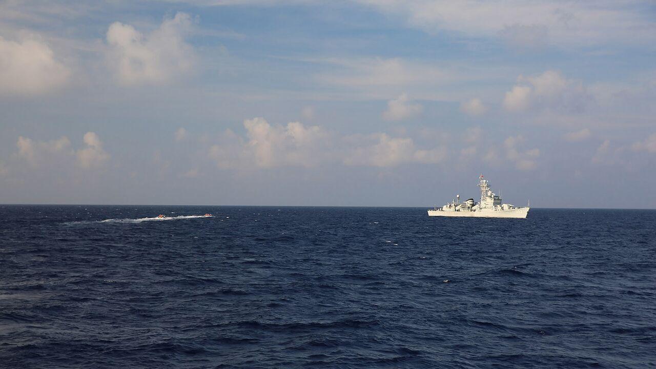 رزمایش چین در دریای جنوبی چین