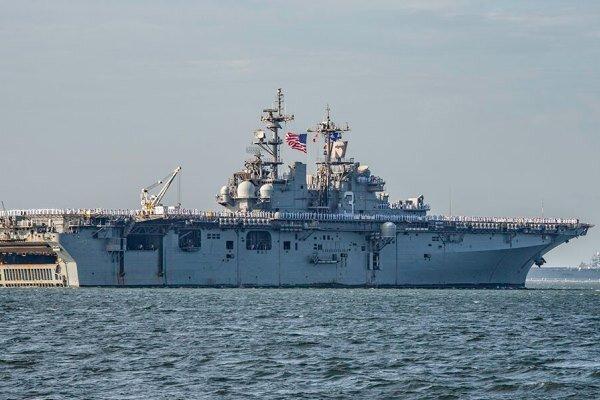 رزمناو آبی خاکی USS Kearsarge
