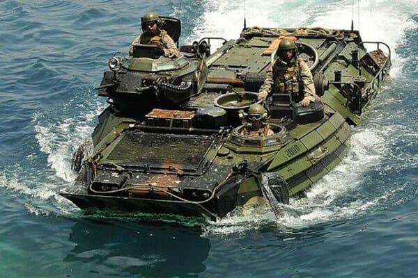 حادثه در رزمایش نیروی دریایی آمریکا