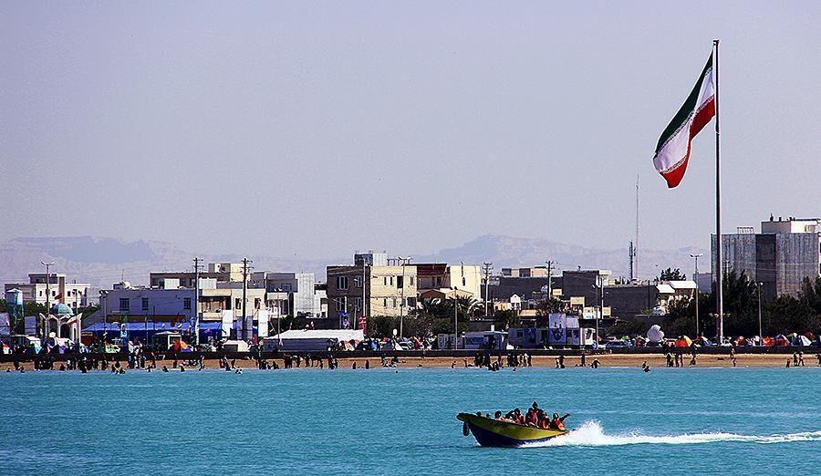 ساحل بندر گناوه بوشهر