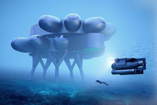 ساخت بزرگترین پایگاه زیرآبی جهان در دریای کارائیب