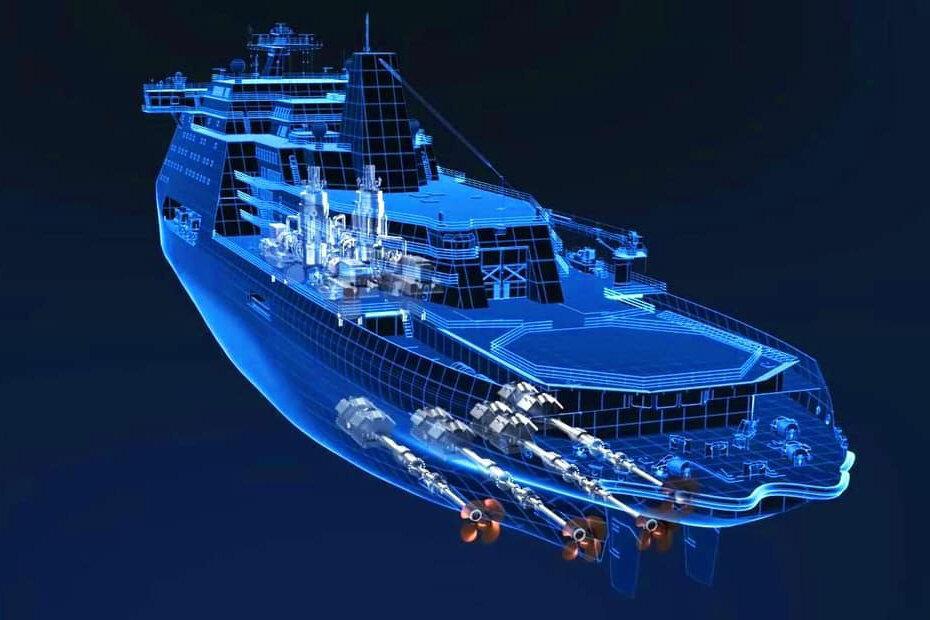ساخت بزرگترین کشتی یخ شکن جهان