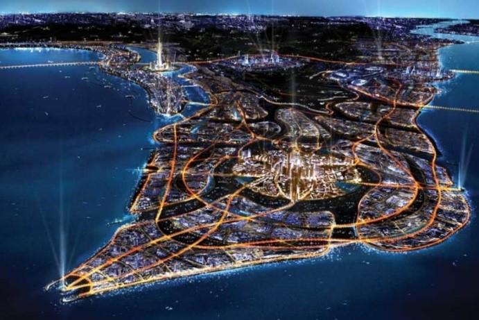 شهر گردشگري ابريشم- در حال ساخت در کويت