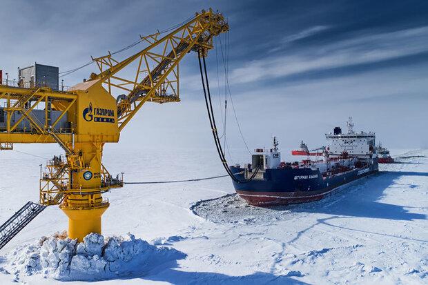 صادارات نفت روسیه به چین از قطب شمال