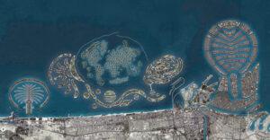 طرح اولیهی مدنظر برای مجموعهجزایر مصنوعی دبی