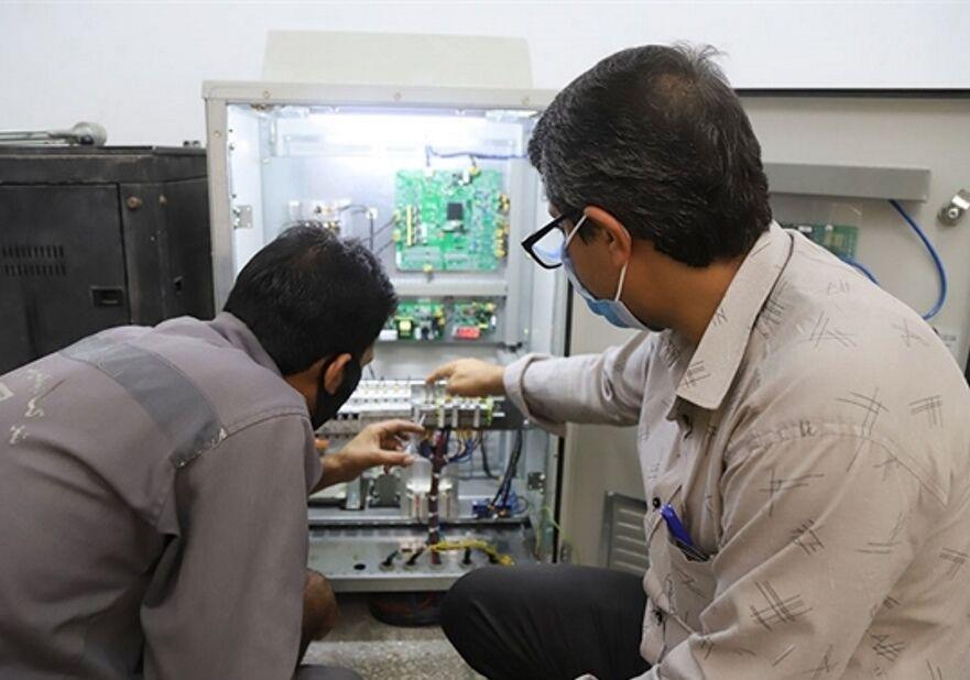 طرح مرکز کنترل برق بندر شهید رجایی