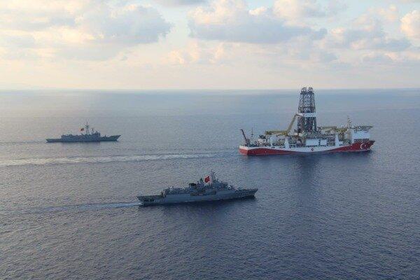 فعالیت ترکیه در دریای مدیترانه
