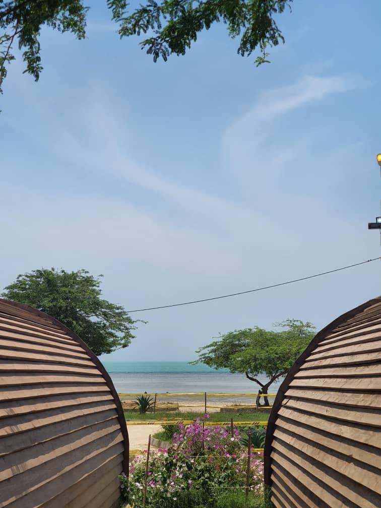 مجموعه گردشگری درسا در پارک ساحلی شغاب بوشهر
