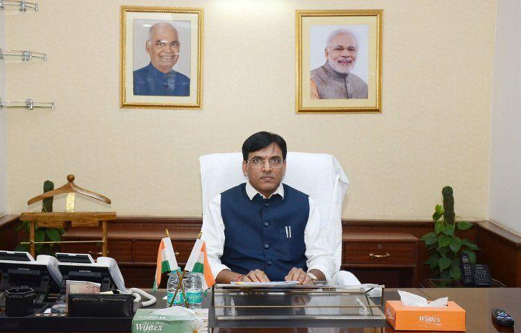 منسوک لال منداویا - وزیر کشتیرانی هند