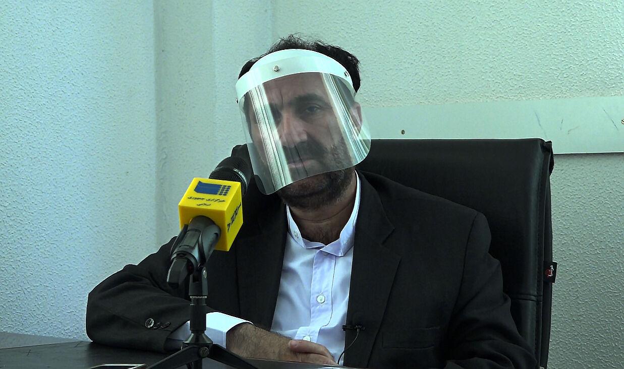 موسی احمدی رئیس شیلات کیش